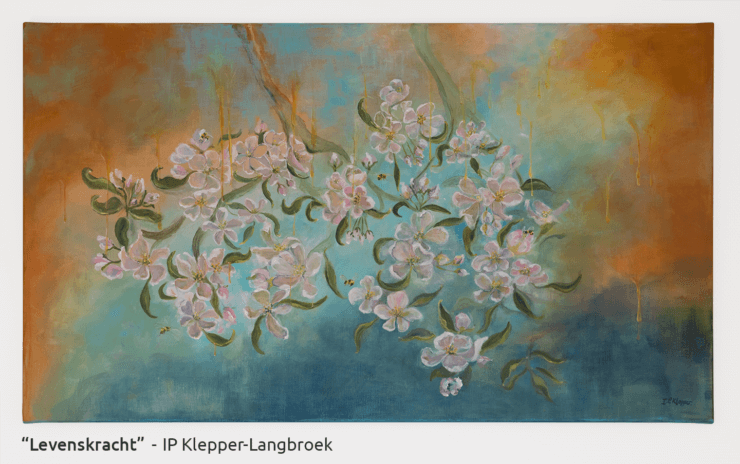 Schilderij Levenskracht - IP Klepper (April 2018)